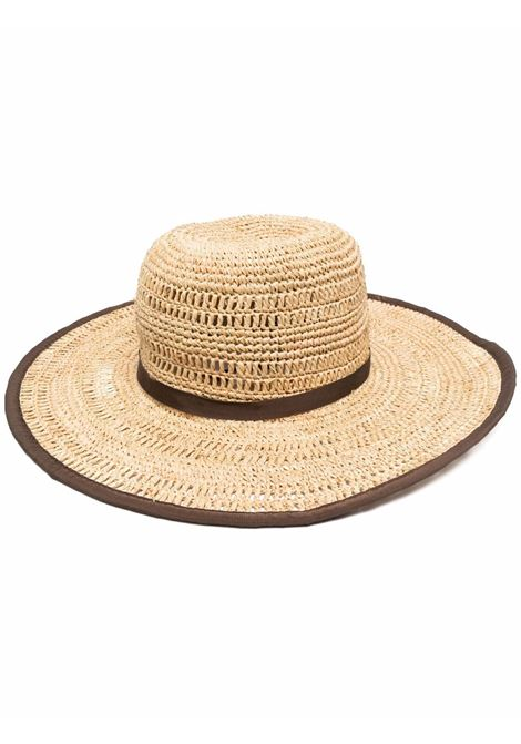Sun hat women cioccolato BORSALINO | Hats | 2322447142