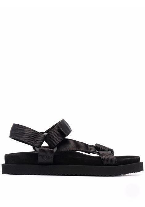Sandali con strappo in nero - uomo BUTTERO | B9332VARCUG01