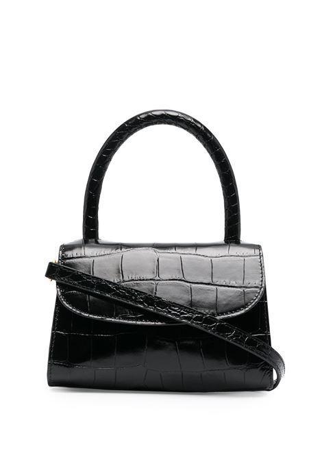 Croc-effect Mina Bag BY FAR | Hand bags | 19CRMINABLDSMABL