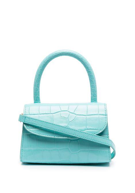 Croc-effect Mina Bag BY FAR | Hand bags | 21CRMINAAQUDSMAAQU