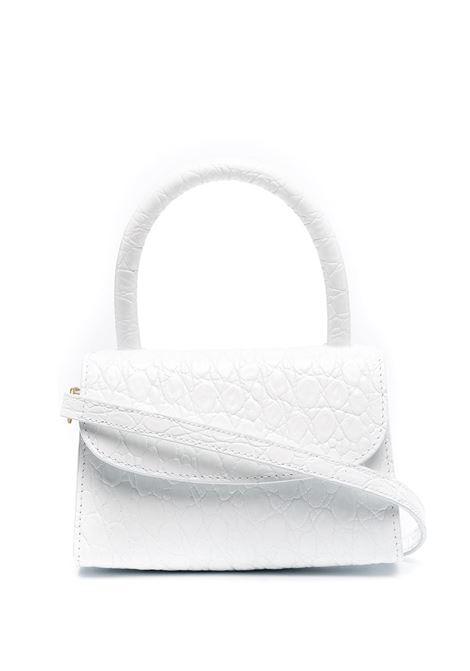 Croc-effect Mina Bag BY FAR | Hand bags | 21CRMINAPWDSMAPW