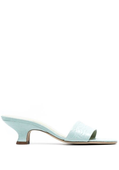 By far crocodile-embossed mules women ice BY FAR | Mules | 21SSFRMICECCEICE