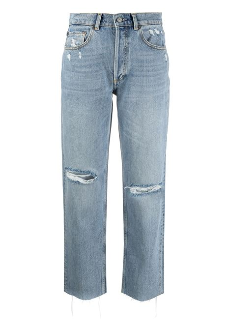 Jeans dritti effetto vissuto Tommy Donna BOYISH | 102080GRTDCTTR