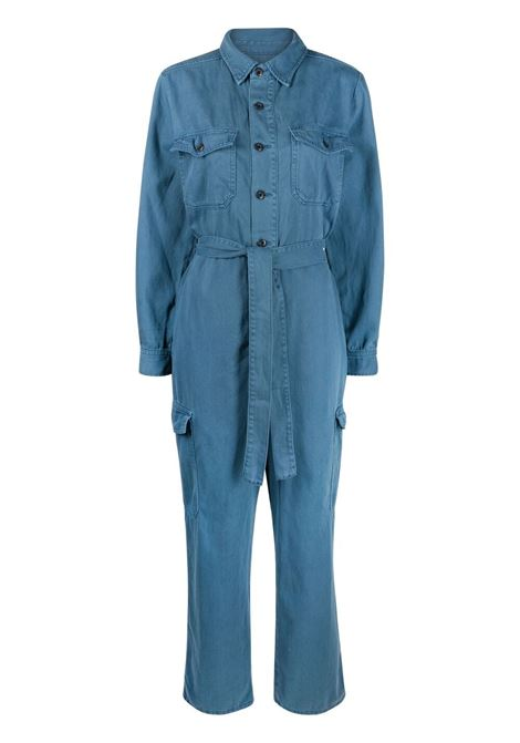 Boyish the troy jumpsuit women blue velvet Boyish | Jumpsuit | 426150BLVLVT