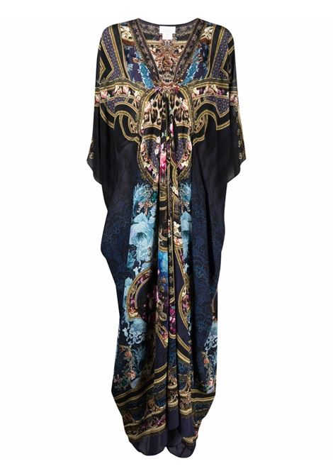 Mix-print kaftan dress featuring multicolore - women CAMILLA | Dresses | 10077FIELDTRE