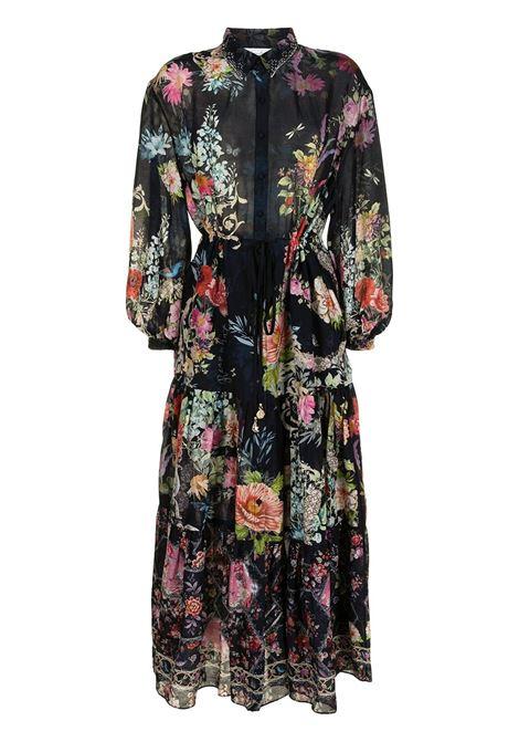 Long dress with floral print- women CAMILLA | Dresses | 10128HAMPHIVE