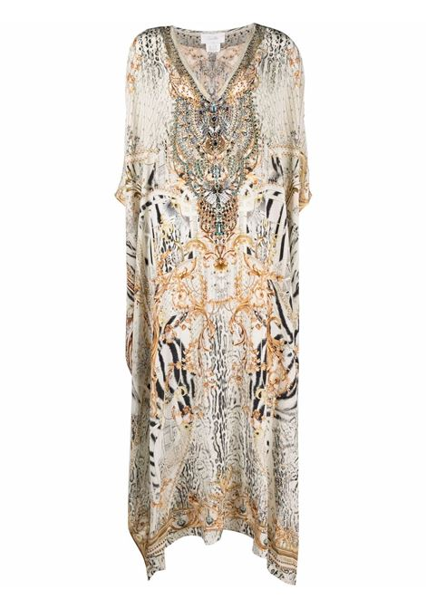 Mix-print kaftan dress featuring multicolore - women CAMILLA | Dresses | 10166GATEGLOR