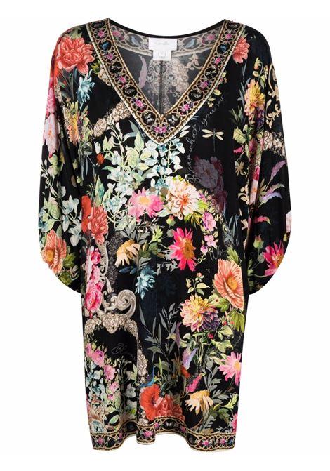 Mix-print kaftan dress featuring multicolore - women CAMILLA | Dresses | 10461HAMPHIVE