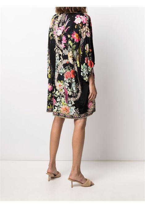 Mix-print kaftan dress featuring multicolore - women CAMILLA | 10461HAMPHIVE