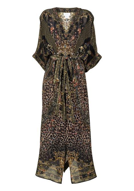 Kaftan dress with animal print- women CAMILLA | Dresses | 12219ABINPALA