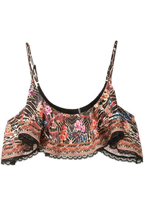 Top bikini con ruches Donna CAMILLA | Costumi | 7762LVLTTL