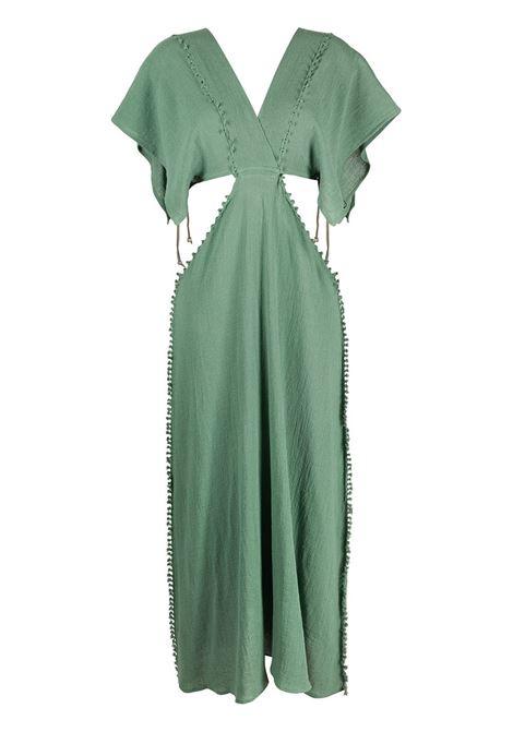 Conkal knot-detail dress CARAVANA | Dresses | 18AA12122313341