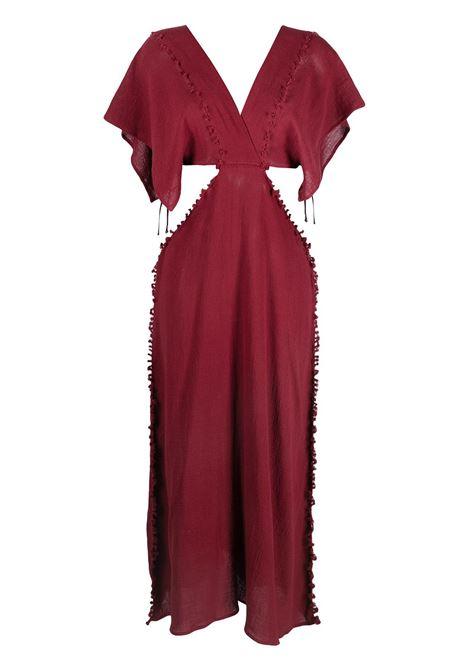 Conkal knot-detail dress CARAVANA | Dresses | 18AA12122313620