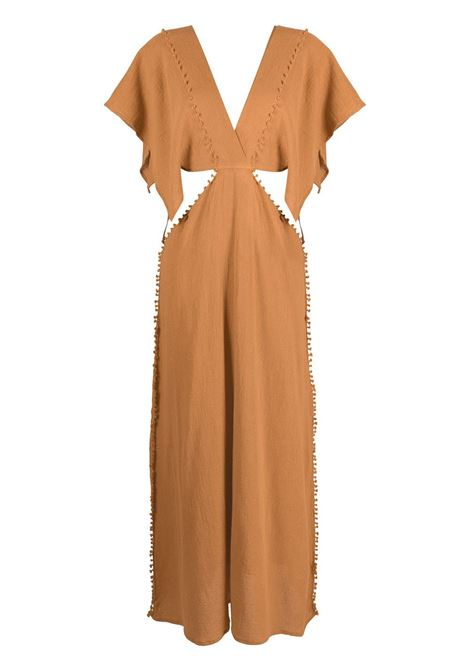 Conkal knot-detail dress CARAVANA | Dresses | 18AA12122313801