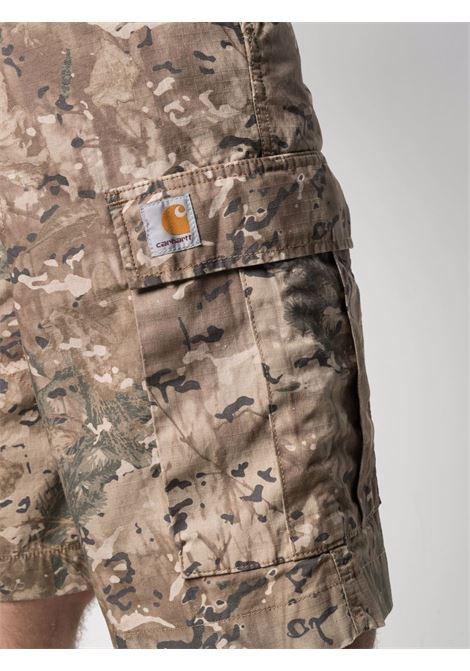 Carhartt camouflage cargo shorts men camo combi desert CARHARTT | I0159990BW0200CMCMBDSRT