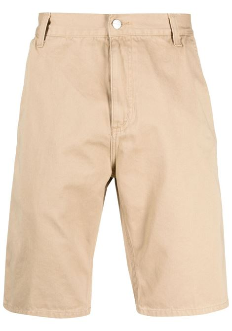 Carhartt ruck bermuda shorts men dusty brown CARHARTT | Bermuda Shorts | I02489207E0600DSTYBRWN