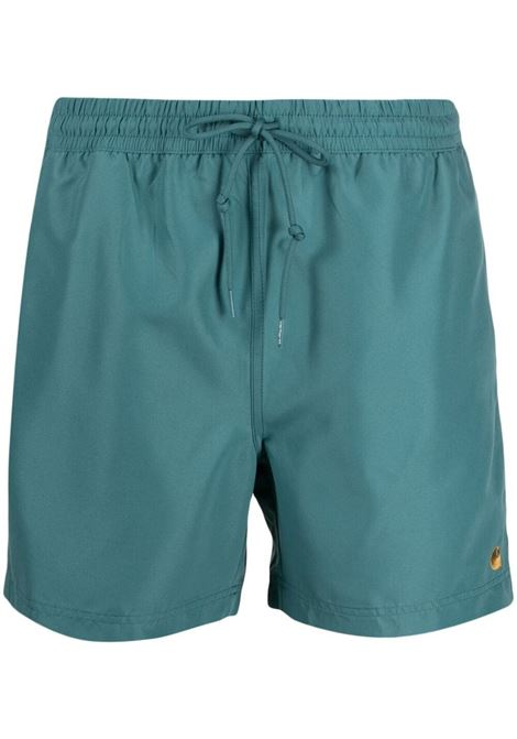Carhartt swimming trunks men hydro gold CARHARTT | Swimwear | I0262350AC9003HYDRGLD