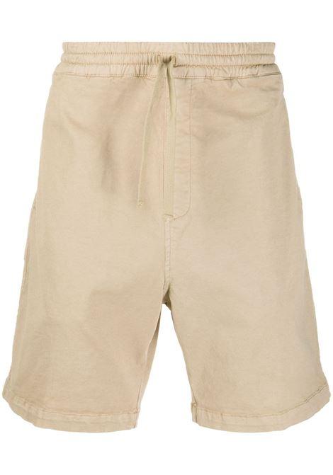 Carhartt drawstring bermuda shorts men wall CARHARTT | Bermuda Shorts | I026518G1GD03WLL