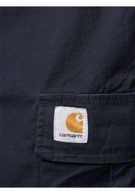 High-waisted bermuda shorts men CARHARTT | I0282461C0200DRKNV