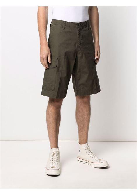 High-waisted bermuda shorts men CARHARTT | I028246630200CYPRSS