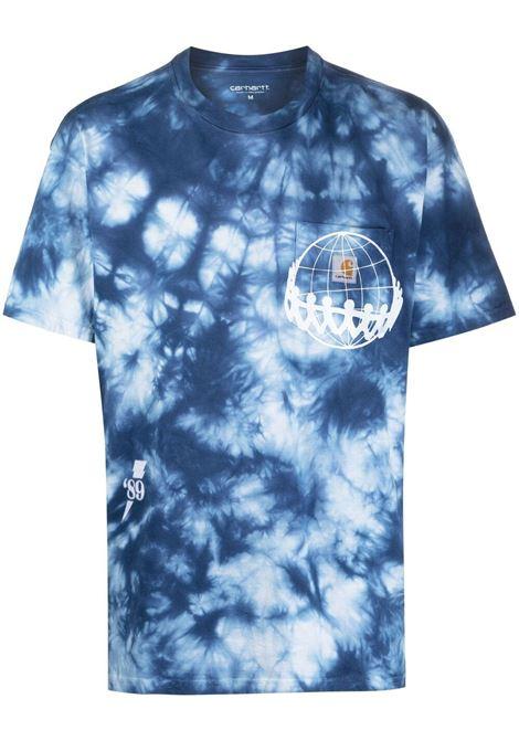 Joint tie-dye t-shirt CARHARTT | T-shirt | I0289320AD9003SHRWHT