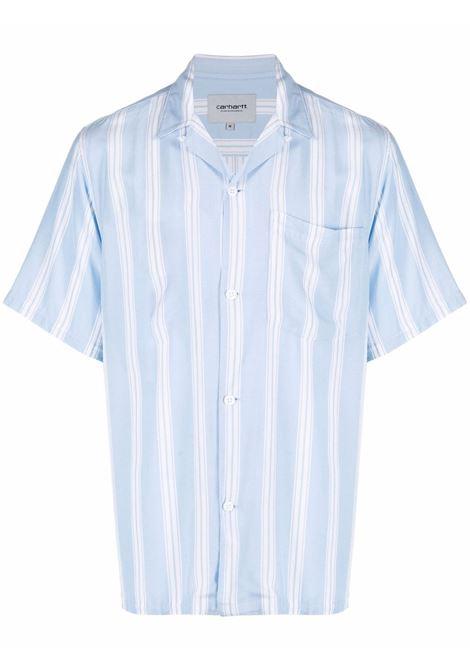 Carhartt camicia a righe uomo foley stripe CARHARTT   Camicie   I028941WV9003FLYSTRP