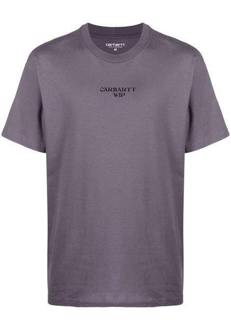 Carhartt panic in detroit t-shirt men provence black CARHARTT | T-shirt | I0290350AF9003PRVNCBLK