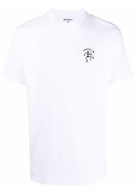 Logo t-shirt men CARHARTT | I029065020003WHT