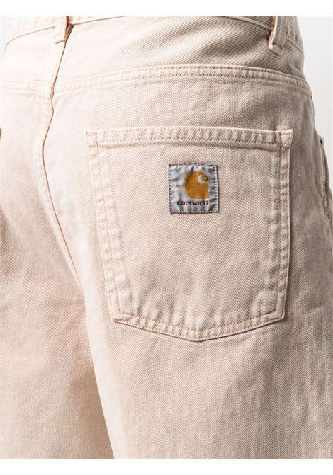 Sand-beige flared bermuda - men CARHARTT | I02914907EWD00DSTYBRWN