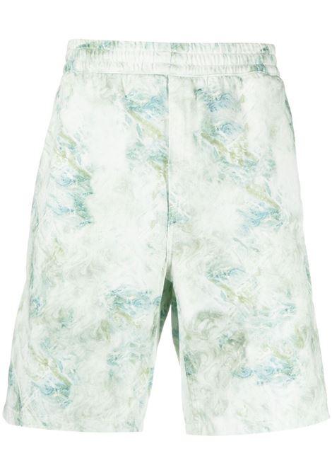 Carhartt knee-length bermuda uomo marble print CARHARTT | Bermuda Shorts | I0291670DD0603MRBLPRNT