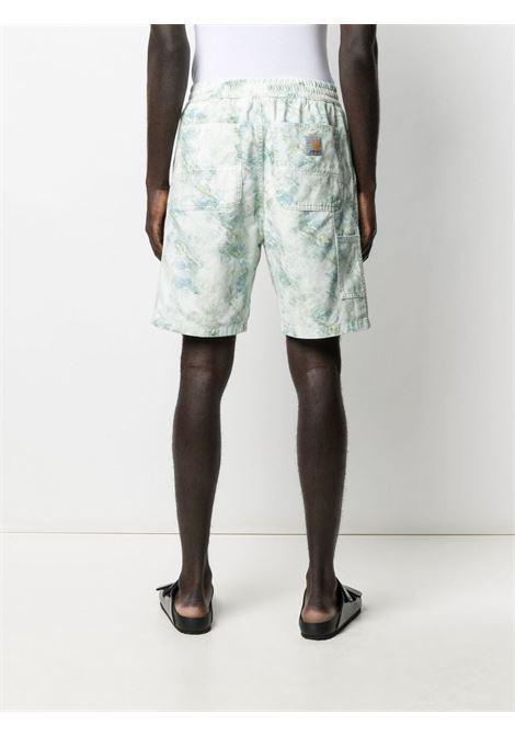 Carhartt knee-length bermuda uomo marble print CARHARTT | I0291670DD0603MRBLPRNT