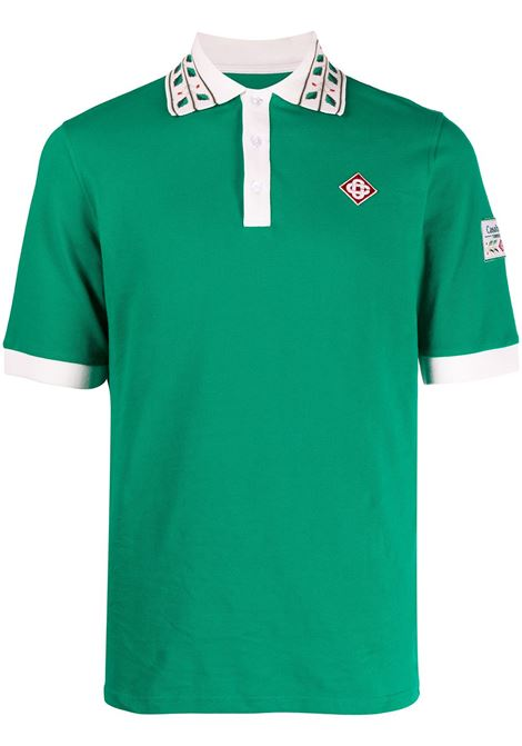 Polo shirt CASABLANCA | Polo | MS21JTP002GRN