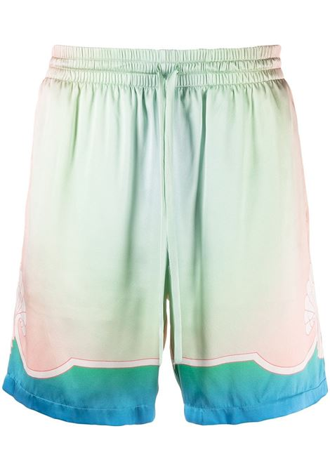 Watercolour shorts CASABLANCA | Bermuda Shorts | MS21TR012LCDDRM