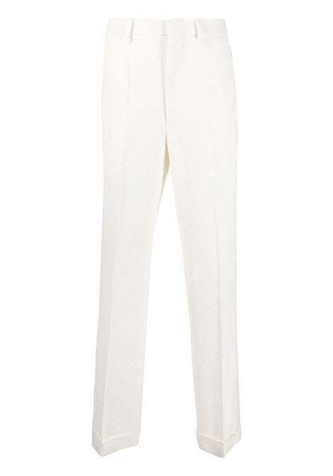 Pantaloni dritti CASABLANCA | Pantaloni | MS21TR031OFFWHT