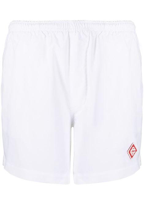 Shorts con logo Donna CASABLANCA | Shorts | WS21TR037WHT