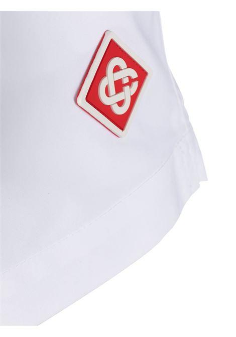 Logo shorts CASABLANCA | WS21TR037WHT