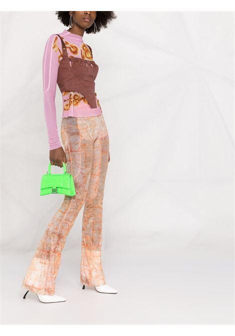 Top a corsetto Donna KNWLS | ANT0PBPRPL