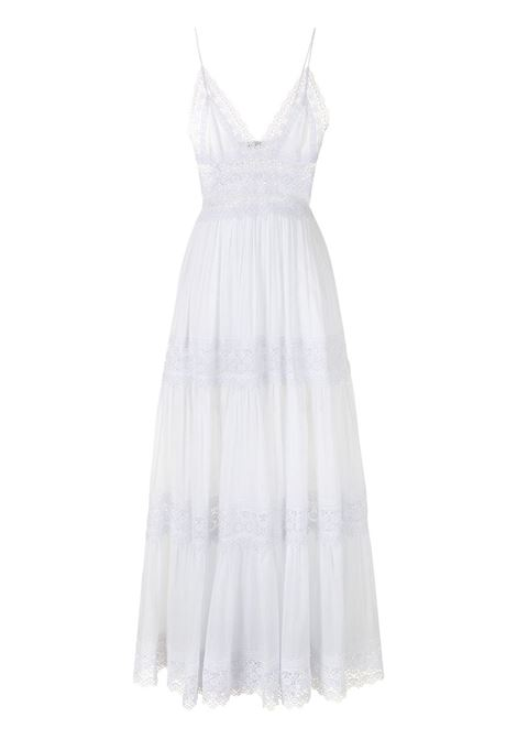 Charo ruiz ibiza 1989 lace-trimmed dress woman white CHARO RUIZ IBIZA 1989 | Dresses | 201638WHT