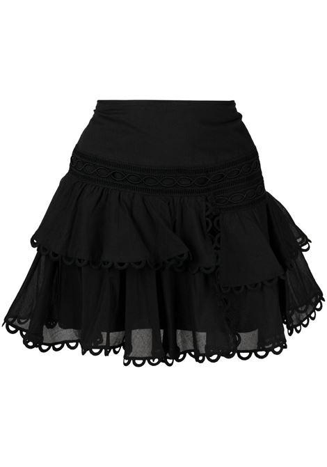 Charo ruiz ibiza 1989 mini skirt women black CHARO RUIZ IBIZA 1989 | Skirts | 211403BLK