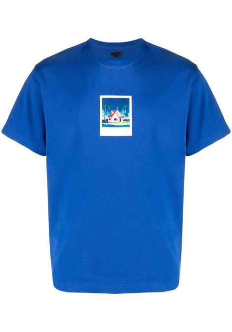 T-shirt con stampa grafica Uomo CLOT | CLTE21SS1014BL