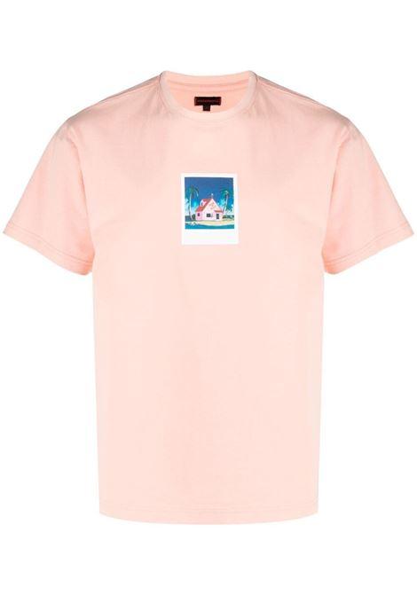 T-shirt con stampa grafica Uomo CLOT | CLTE21SS1014PNK