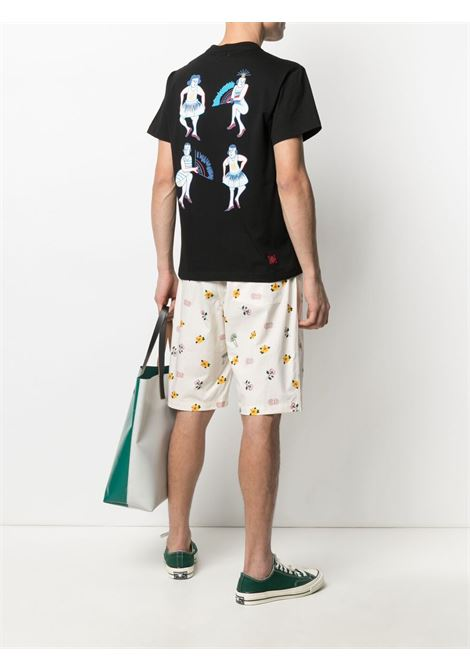 T-shirt con stampa Uomo CLOT | CLTE21SS1017BLK