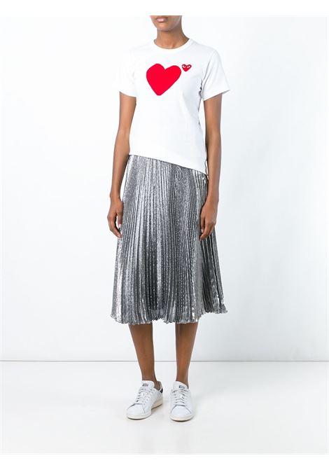 T-shirt Heart Donna COMME DES GARCONS PLAY | P1T2211