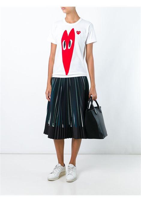 T-shirt Heart Donna COMME DES GARCONS PLAY | P1T2231