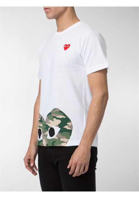 T-shirt con stampa Uomo COMME DES GARCONS PLAY | P1T2441