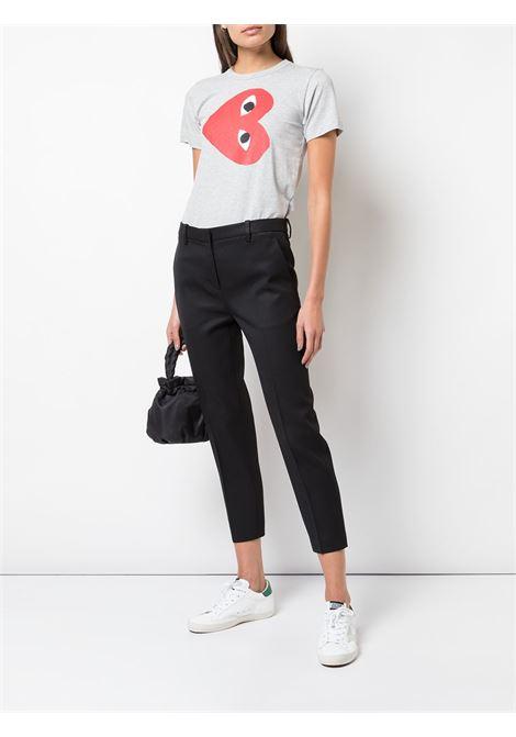 T-shirt con logo Donna COMME DES GARCONS PLAY | P1T2631