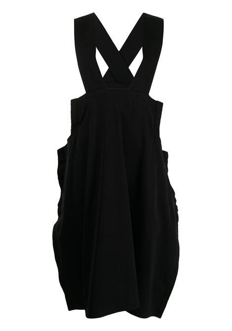 Comme des garcons abito con design a incrocio donna black COMME DES GARCONS | Abiti | RGA0030511