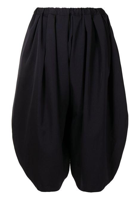 Comme des garcons pantaloni crop donna navy COMME DES GARCONS | Pantaloni | RGP0030512