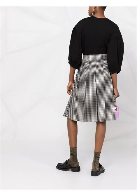Comme des garcons puff sleeves t-shirt women black COMME DES GARCONS | RGT0100511