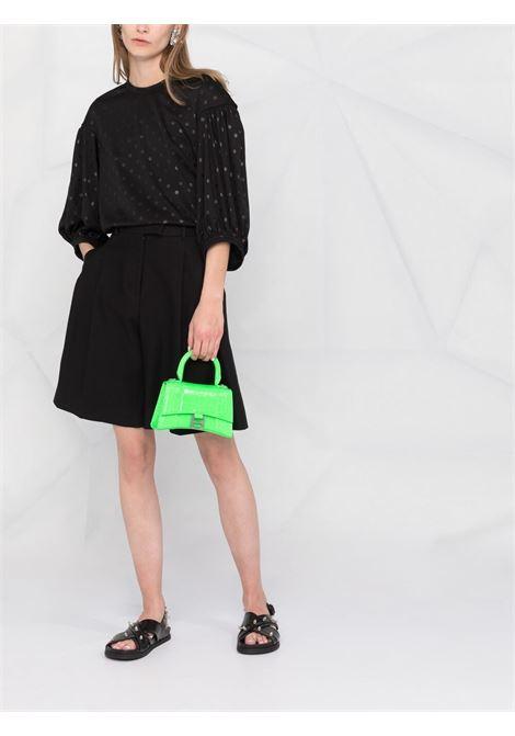 Comme des garcons balloon-sleeved blouse women black COMME DES GARCONS | RGT0120511